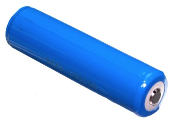 Batteri for hodelykt som kan kjøpes i tillegg.